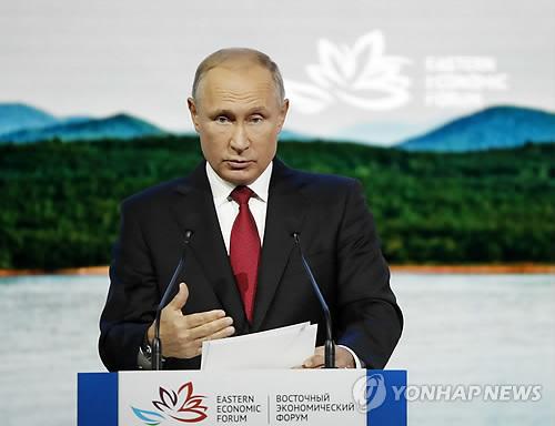 """푸틴 """"올해말까지 러-일 평화조약 체결하자"""" 日에 전격 제안"""