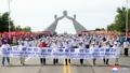 Marche internationale à Pyongyang