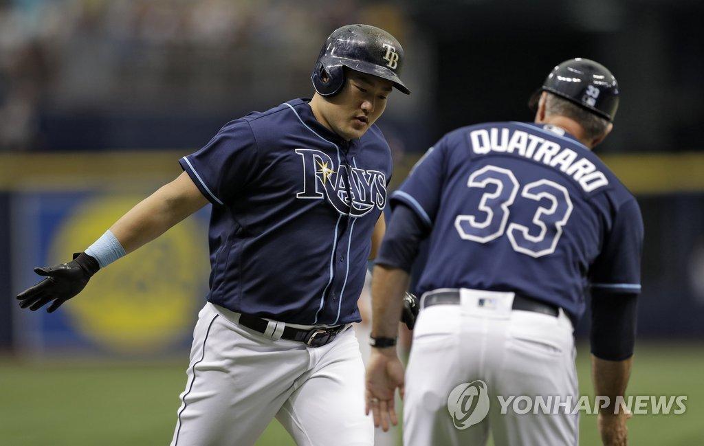 탬파베이 최지만, 클리블랜드전 결승 투런포…시즌 9호