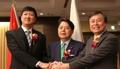 Ministres du Sport Corée-Chine-Japon