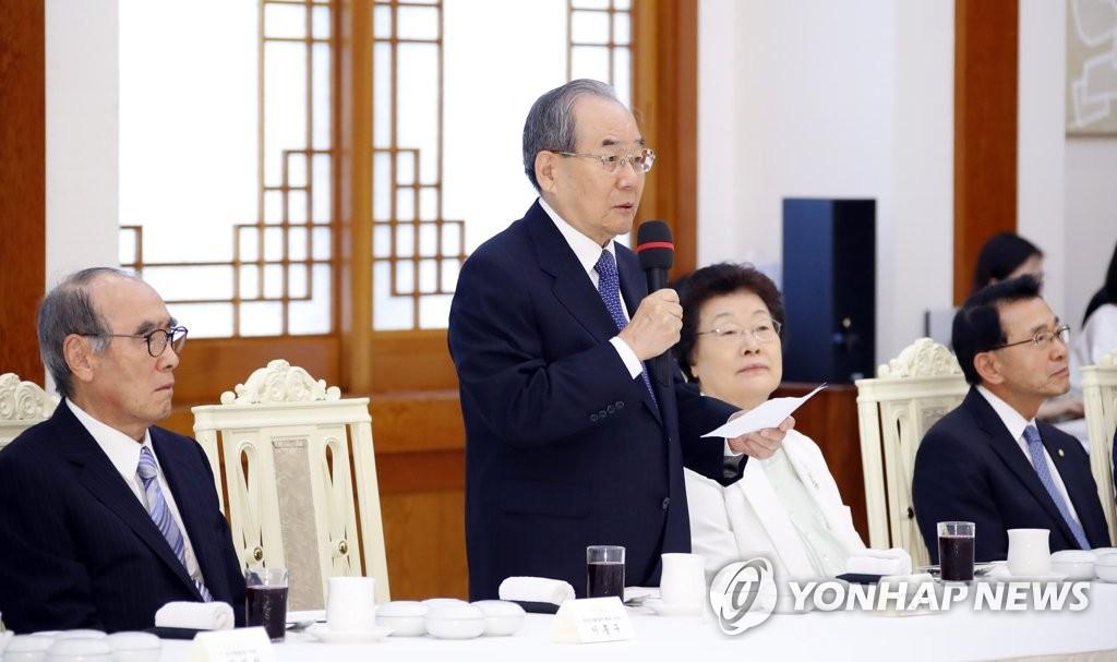 임동원, 남북정상회담 원로자문단 의견은