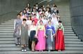 Traje tradicional coreano reinterpretado