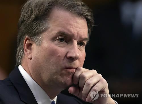 캐버노 美대법관 후보 성폭행 미수 폭로 여성 내주 의회 증언