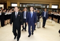 Equipe préparatoire à Pyongyang