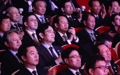 Samsung chief watches art performance in Pyongyang