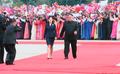 Kim recibe a Moon en Pyongyang
