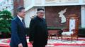 Moon Jae-in y Kim Jong-un en Pyongyang