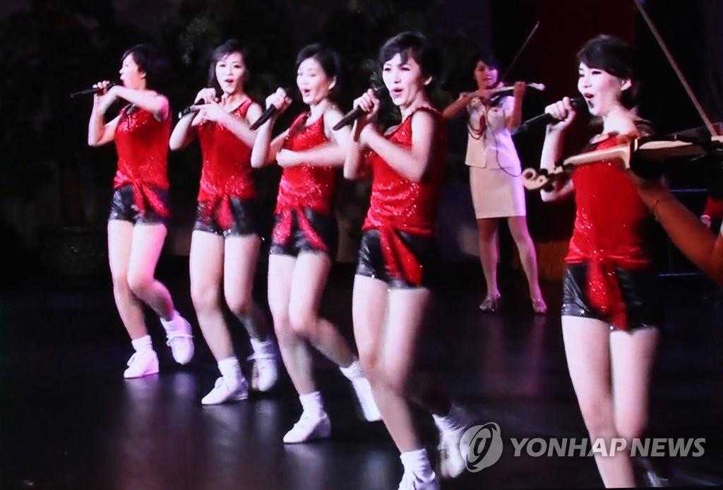 [평양정상회담]삼지연 관현악단  공연