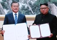 남북정상회담 둘째 날…9월 평양공동선언 발표