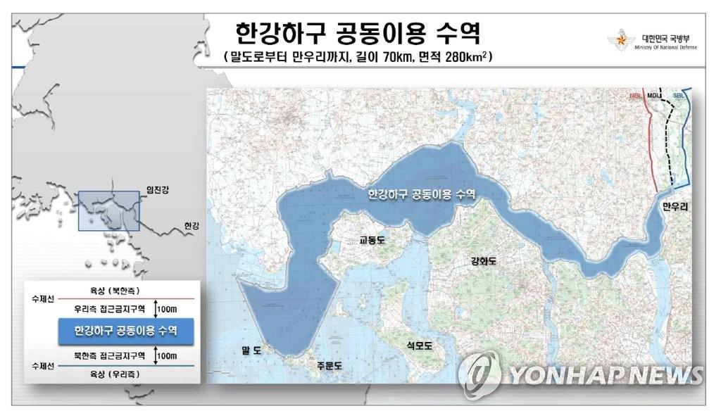[평양공동선언] 한강하구 공동이용 수역