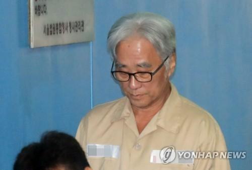 이윤택·검찰 모두 '극단원 상습추행' 1심 징역6년에 항소(종합)