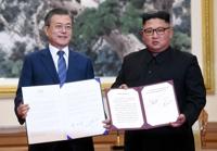 문대통령 '평화선언' 일궈낸 2박3일…비핵화 여정 가속