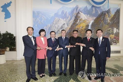 [평양공동선언] 김정은, 경호 우려에도 답방…北지도자 처음 서울로(종합)