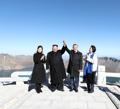 Au sommet du mont Paekdu
