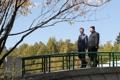 Paseo de Moon y Kim en Pyongyang