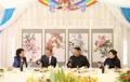 韩朝首脑伉俪共进午餐