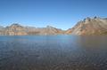 白頭山の火口湖