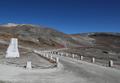 白頭山頂上への道