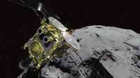 日탐사선 '하야부사2', 소행성 '류구' 상공서 로봇 분리 성공