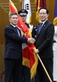 Change of command at defense ministry