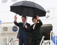 문대통령, 뉴욕 도착…비핵화 대화 중재·다자 외교전 착수