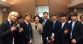 BTS与韩国总统夫人合影