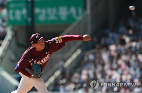 """장정석 감독 """"이승호, 준PO 시작 때부터 선발로 낙점"""""""