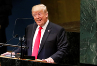 UN 총회장 ′웃음바다′만든 트럼프…이유는?