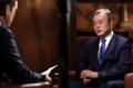 Entrevista del presidente surcoreano con el canal Fox
