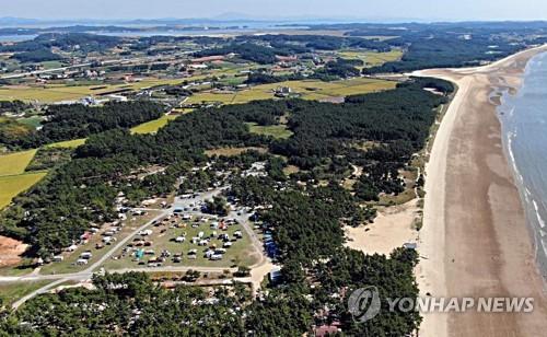 태안 몽산포 명품관광지로 거듭난다…송림학습장·해변공원 조성