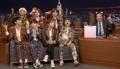 BTS en un programa de televisión estadounidense