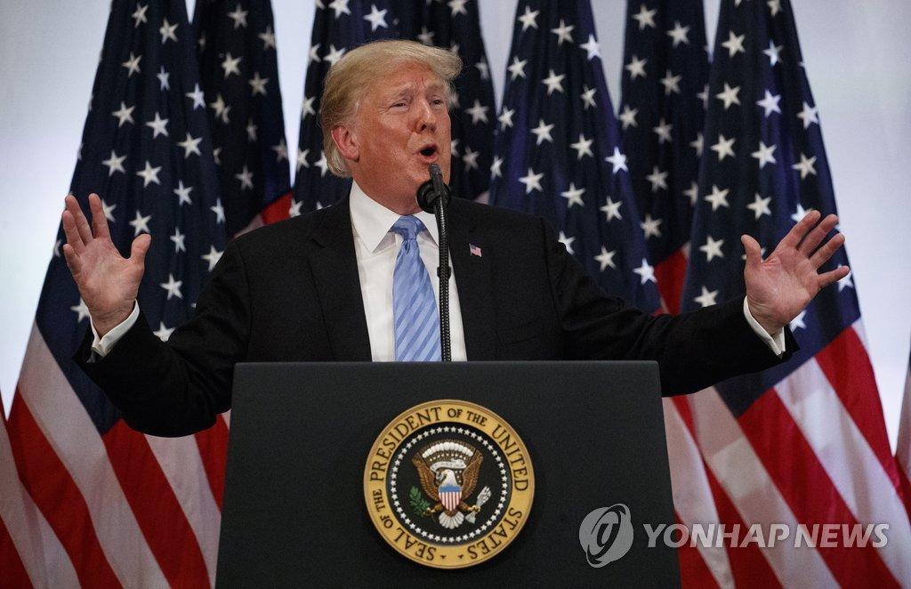 """트럼프 """"北核협상 타결, 2년 걸리든 3년 걸리든 문제 안돼"""""""