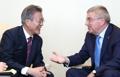 IOC会長と会談