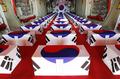米国から到着した韓国兵遺骨