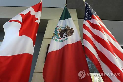 """美·캐나다 """"나프타 대체 새 무역협정 USMCA 합의"""" 공식발표"""