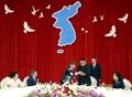 Mago con el líder norcoreano