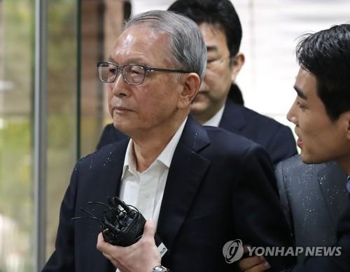 김기춘 전 대통령 비서실장 [연합뉴스 자료사진]