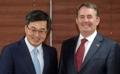 Avec un secrétaire d'Etat britannique