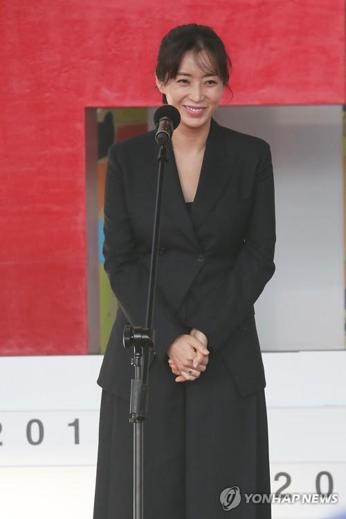 Actress Song Yoon-ah at BIFF
