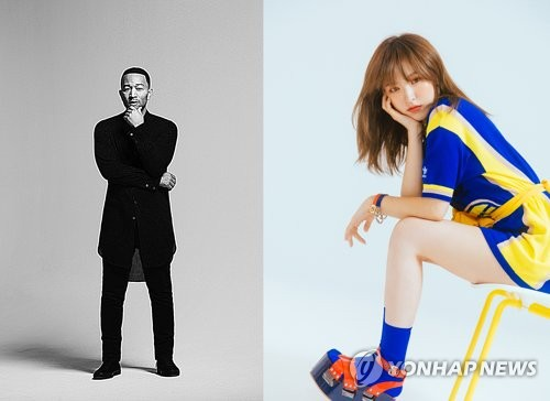 Red Velvet's Wendy-John Legend collaboration