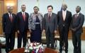El PM se reúne con la canciller keniata