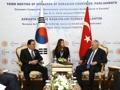 Avec le président de la Grande Assemblée nationale de Turquie