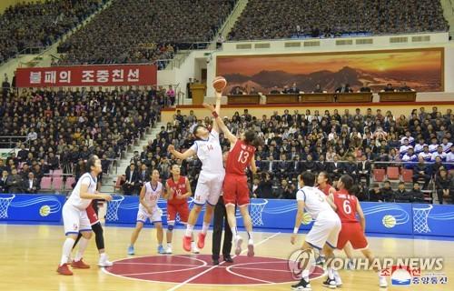 시진핑 방북 사전 다지기?…北中 체육교류 속도, 농구친선경기