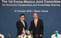 Reunión económica entre Corea del Sur y México