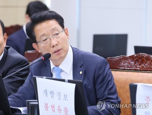 질의하는 김상훈 의원