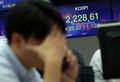 韓国株 約1年半ぶり安値