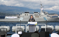 国際観艦式で演説