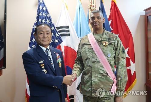 USFK commander honored