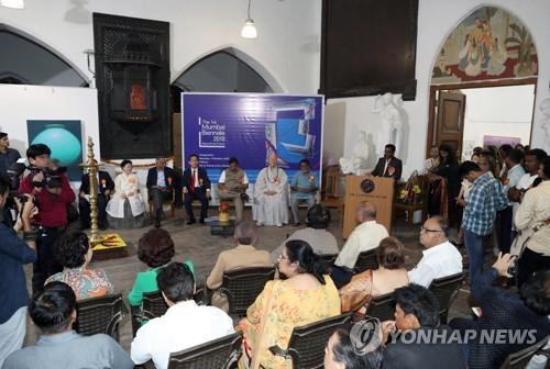 인도 뭄바이 비엔날레 개막