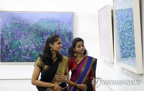 한국 미술 인도 뭄바이 진출